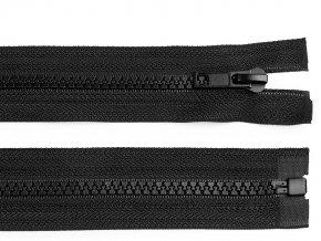 Kostěný zip šíře 5 mm délka 130 cm bundový