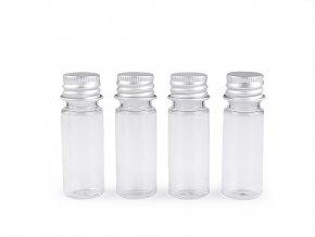 Plastová lahvička se šroubovacím víčkem