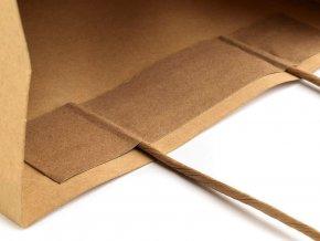 Papírová taška natural 26x32 cm