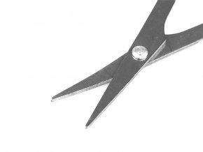 Nůžky malé zahnuté délka 9 cm