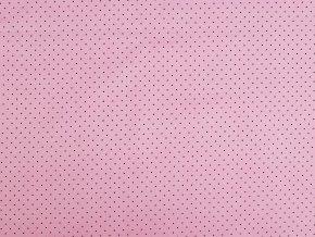 Bavlněná látka mini puntíky