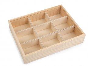 Dřevěný box s posuvným víkem