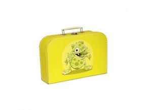 Kufřík s příšerou žlutý střední