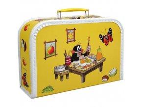 Kufřík s krtečkem žlutý velký