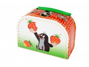 Kufřík s krtečkem červený mini
