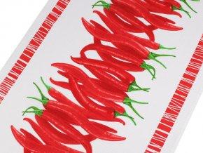 Bavlněné vaflové piké chilli papričky