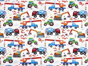 Bavlněná látka nákladní auta