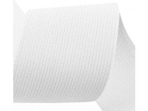 Plochá guma 35 mm bílá