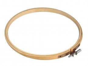 Vyšívací kruh bambusový Ø18 cm