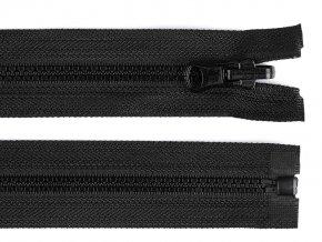 Kostěný zip šíře 5 mm délka 60 cm oboustranný