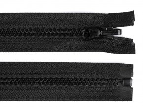 Kostěný zip šíře 5 mm délka 70 cm oboustranný