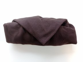 Vak do pufu 40x30 cm tmavě hnědý