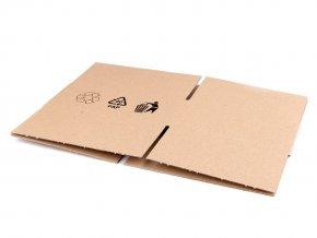 Kartonová krabice 16,5x13,5x6,5 cm
