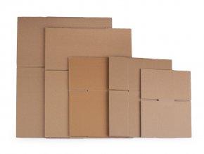 Kartonová krabice sada - mix pěti velikostí