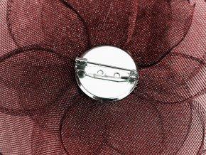 Brož květ s broušenými korálky 2. jakost