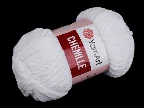 Pletací žinylková příze Chenille 100 g