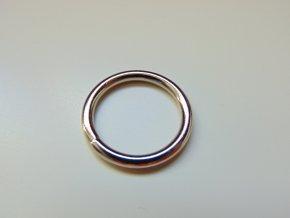 Kroužek stříbrný 15 mm