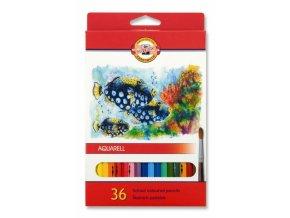 8204 1 akvarelove pastelky koh i noor 3719 sada 36 barev