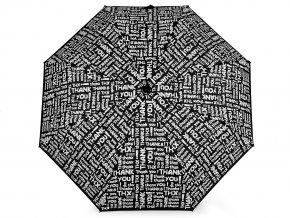 Dámský skládací deštník měnící barvy