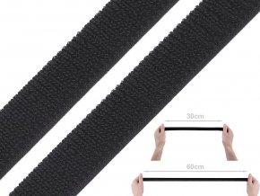 Suchý zip plyš šíře 20 mm elastický