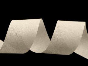 Šikmý proužek bavlněný šíře 40 mm nezažehlený
