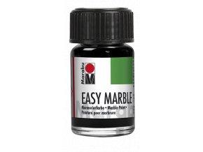 Mramorovací barva Easy Marble 15 ml - 73 černá