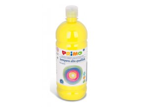PRIMO Alta školní temperová barva 1l - žlutá light yellow 201
