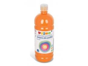 PRIMO Alta školní temperová barva 1l - oranžová orange 250