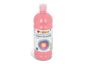 PRIMO Alta školní temperová barva 1l - růžová pink 330