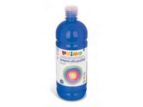 PRIMO Alta školní temperová barva 1l - modrá ultramarine 500