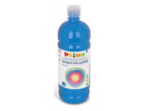 PRIMO Alta školní temperová barva 1l - modrá cyan 501