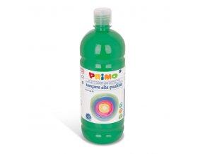 PRIMO Alta školní temperová barva 1l - zelená tmavá dark green 630