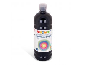 PRIMO Alta školní temperová barva 1l - černá black 800