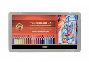 Koh-i-Noor 3827 72 ks umělecké pastelky Polycolor
