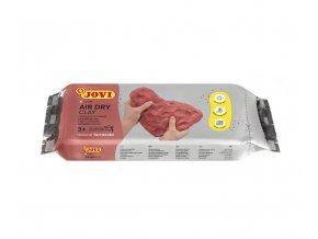 Samotvrdnoucí hmota JOVI 500 g - terracotta