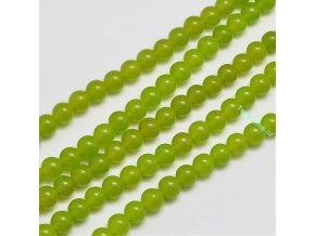 Jadeit zelený 6 mm