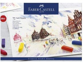 Suché pastely Faber Castell - Soft Pastel Mini 72 ks