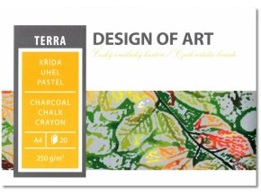 Grafický blok TERRA A4 250 g, 20 listů