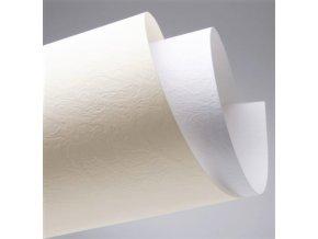 Papír Kůže bílá A4 230g