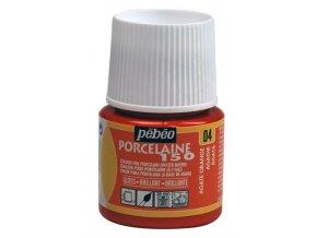 Barva na porcelán a sklo Porcelaine 150 45 ml - oranžová achátová 04