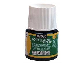 Barva na porcelán a sklo Porcelaine 150 45 ml - zelená smaragdová 19