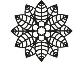 Šablona Marabu pro Fashion sprej 15x15cm - Primrose