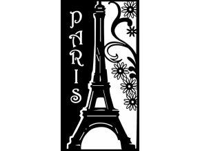 Šablona Marabu pro Fashion sprej 21x30 cm - Romantická Paříž