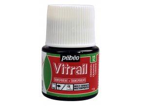 Barva na sklo Pébéo Vitrail - 12 karmínová