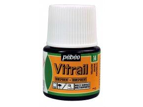 Barva na sklo Pébéo Vitrail - 14 žlutá