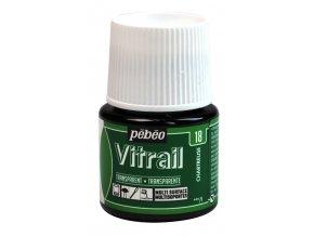 Barva na sklo Pébéo Vitrail - 18 zelená chartreuska