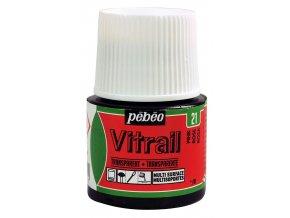 Barva na sklo Pébéo Vitrail - 21 růžová