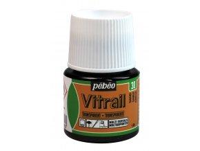 Barva na sklo Pébéo Vitrail - 30 písková