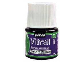 Barva na sklo Pébéo Vitrail - 33 fialová parma