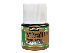 Barva na sklo Pébéo Vitrail - 38 zlatá